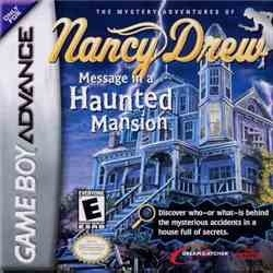 Nancy Drew - Message in a Haunted Mansion (US