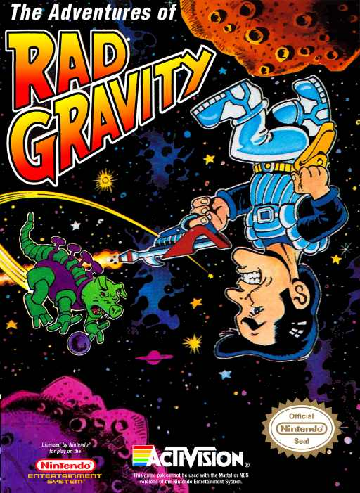 Adventures of Rad Gravity, The Nes