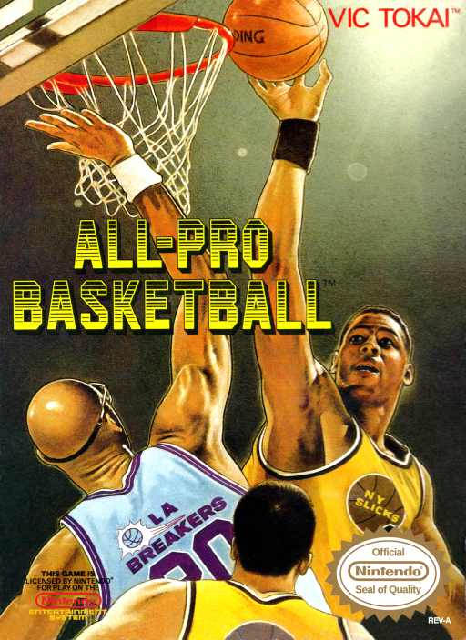 All-Pro Basketball Nes
