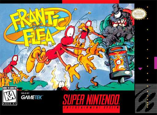 Frantic Flea  Snes
