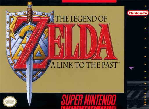 Legend of Zelda, The - A Link to the Past  Sn