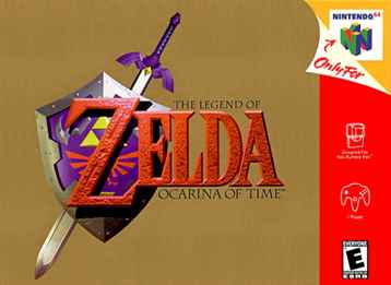 Legend of Zelda, The - Ocarina of Time N64