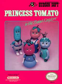 Princess Tomato in the Salad Kingdom Nes