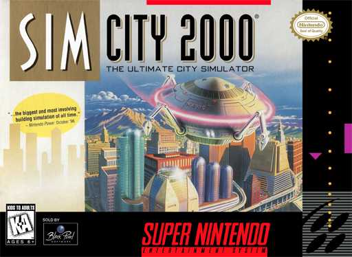 SimCity 2000 - The Ultimate City Simulator  S