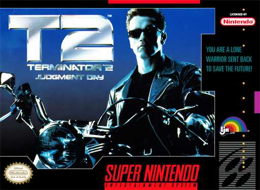 Terminator 2 - Judgment Day  Snes