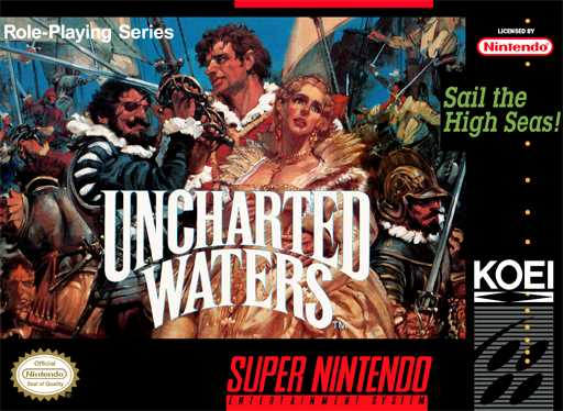 Uncharted Waters  Snes