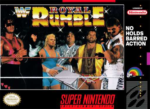 WWF Royal Rumble  Snes