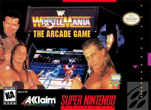 WWF WrestleMania - The Arcade Game  Snes