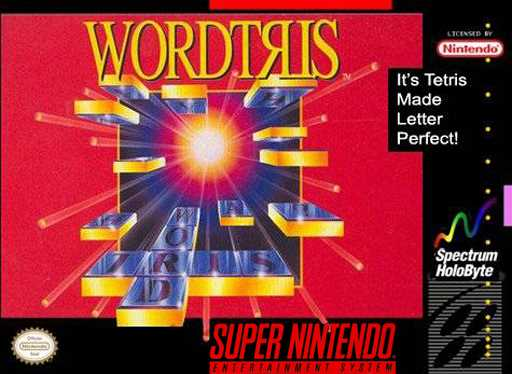 Wordtris  Snes