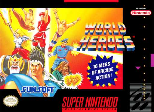 World Heroes  Snes