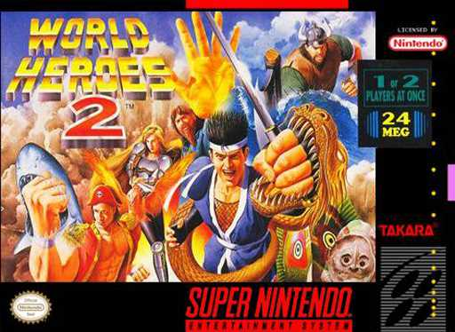 World Heroes 2  Snes
