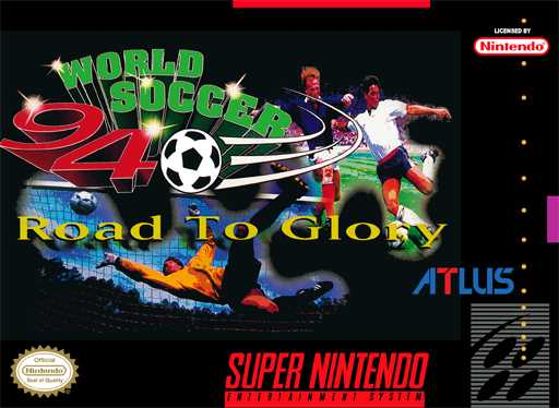 World Soccer 94 - Road to Glory  Snes