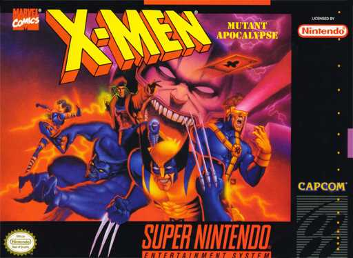 X-Men - Mutant Apocalypse  Snes