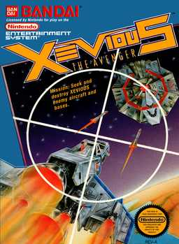 Xevious - The Avenger Nes